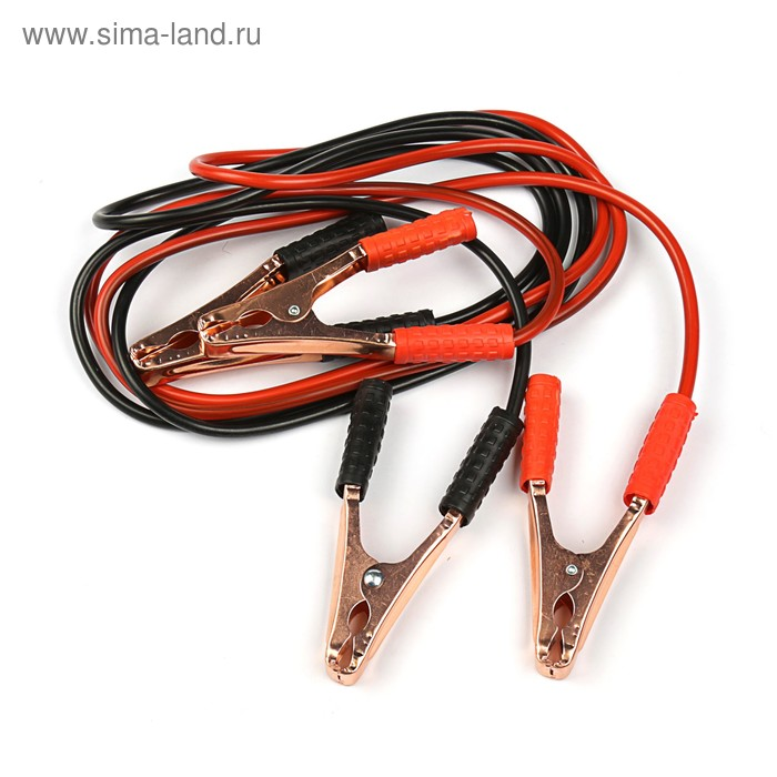 Провода-прикуриватели TORSO, 200 А, -30 до +80º, длина 2.5 м, 12/24 В, в пакете