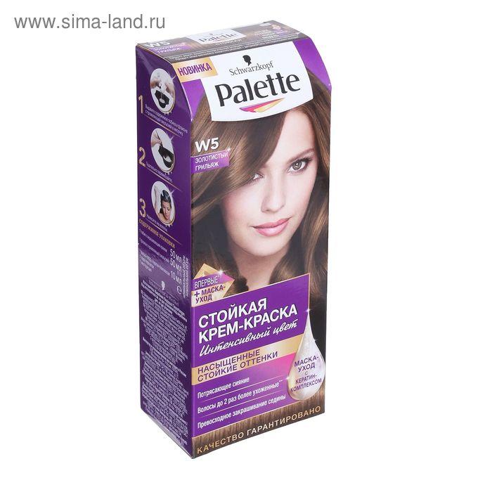 Крем-краска для волос PALETTE W5 Золотистый грильяж, 50 мл