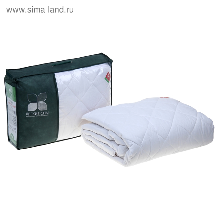 Наматрасник Бамбоо на резинке, размер 160х200 см, 200 гр/м2, цвет белый