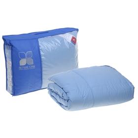 Одеяло кассетное Камелия 140х205 см теплое, гусиный пух, тик микс, 100% хлопок