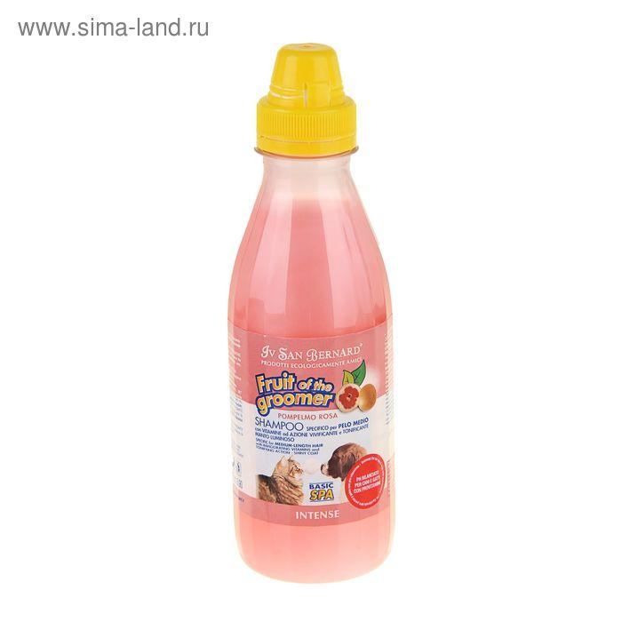 """Шампунь """"Розовый грейпфрут"""" с витаминами, для шерсти средней длины, 500 мл"""