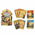 """Игра вопрос-ответ """"День рождения: приключения пиратов"""" (набор 20 карточек)"""