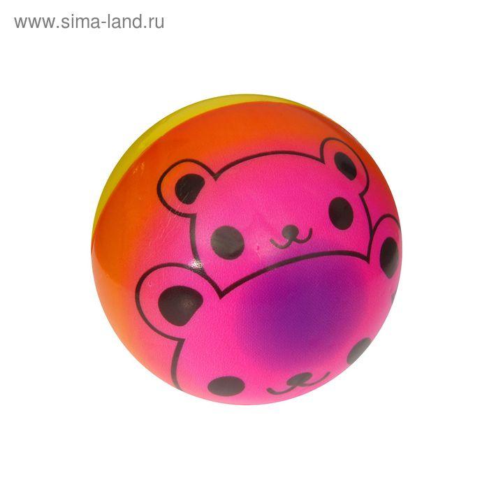 "Мягкий мяч ""Мишка"", 7,5 см"