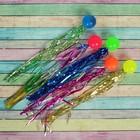"""Мяч каучук с дождиком """"Цветной"""" 3 см"""