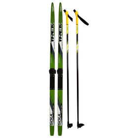 Комплект лыжный TREK Blazzer/Маяк/Валамаз/Лидер (150/110 (+/-5 см), крепление: КМУ 001) МИКС