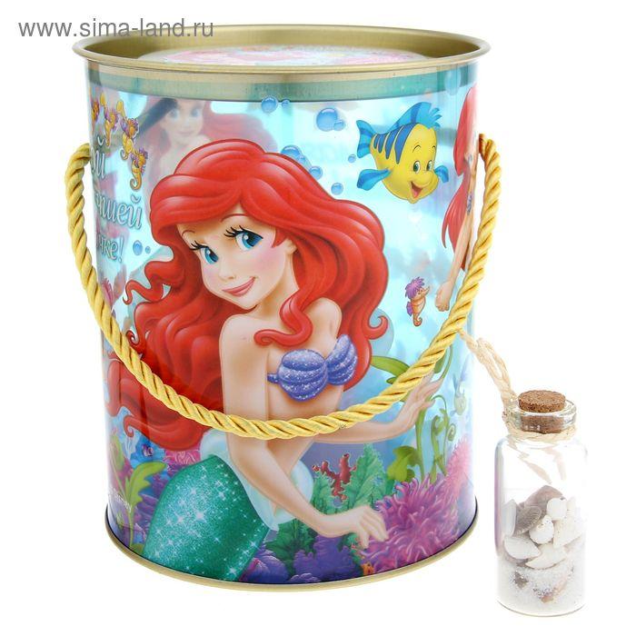 """Коробка-тубус подарочная """"Самой милой принцессе!"""", Принцессы, + бонус"""