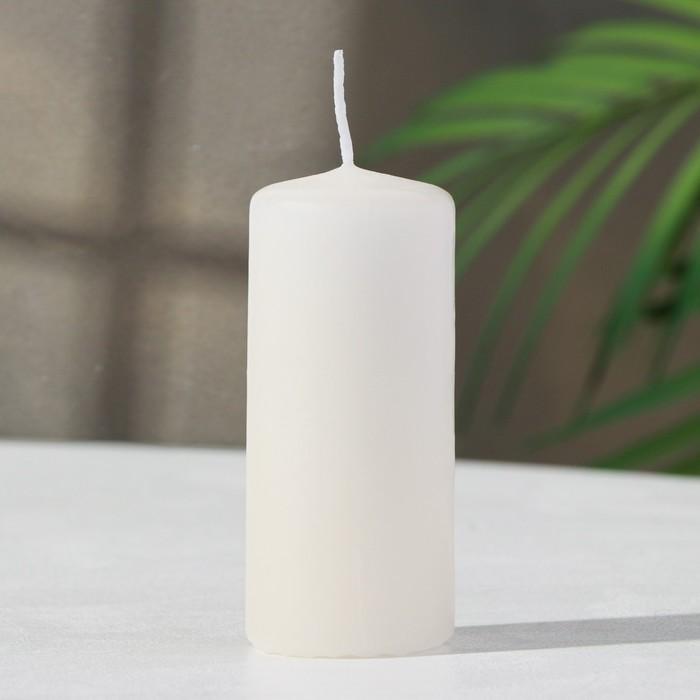 Свеча классическая 4х9 см, цвет слоновая кость