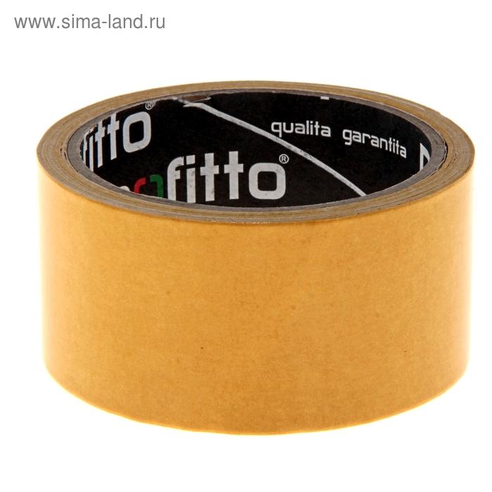 Клейкая лента двухсторонняя Profitto, 48 мм х 10 м