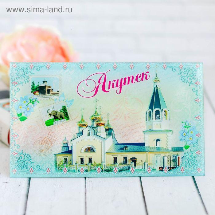 "Настольная картина ""Якутск"""