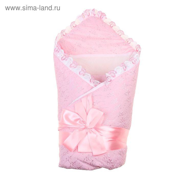 """Комплект на выписку зимний """"Егоза"""", 8 предметов, цвет розовый"""