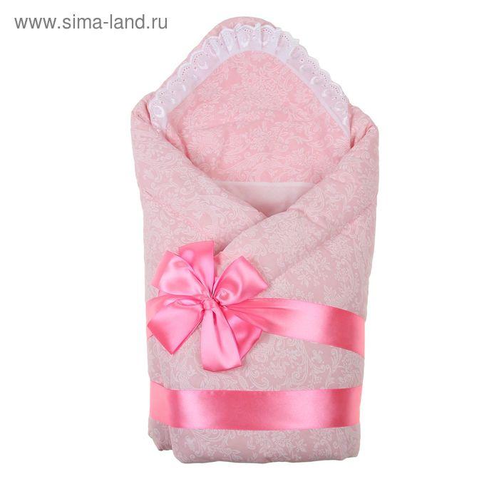"""Комплект на выписку зимний """"Вырастайка"""", 6 предметов, цвет розовый"""