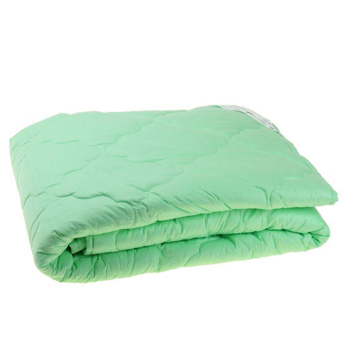 """Одеяло """"Этель"""" Алоэ-Вера 200*220 см, сатин, 300 гр/м2"""