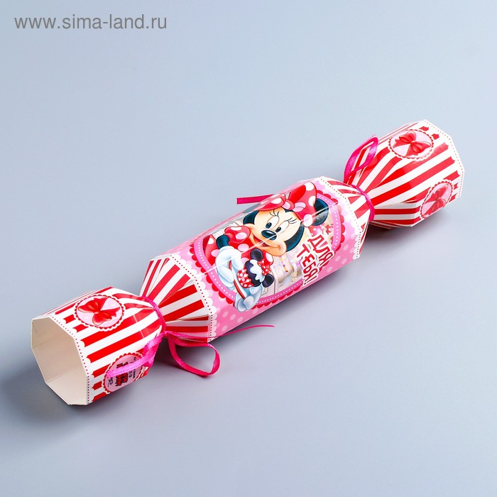 "Складная коробка-конфета ""Для тебя"", Минни Маус, 11х5 см"