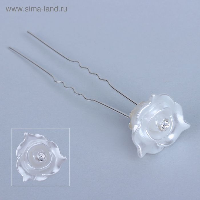 """Шпилька для волос """"Цветущая роза"""""""