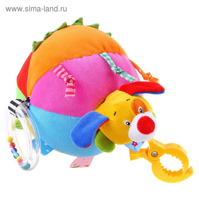 """Развивающая игрушка-подвеска """"Собачка"""": звук и вибрация"""