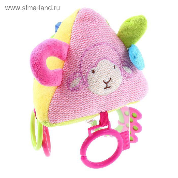 """Развивающая игрушка """"Пирамида"""", цвет розовый"""