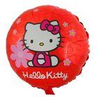 "Шар фольгированный 18"" Hello Kitty ""Цветочки"", круг"