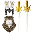 """Набор рыцаря """"Средневековый"""", 6 предметов"""