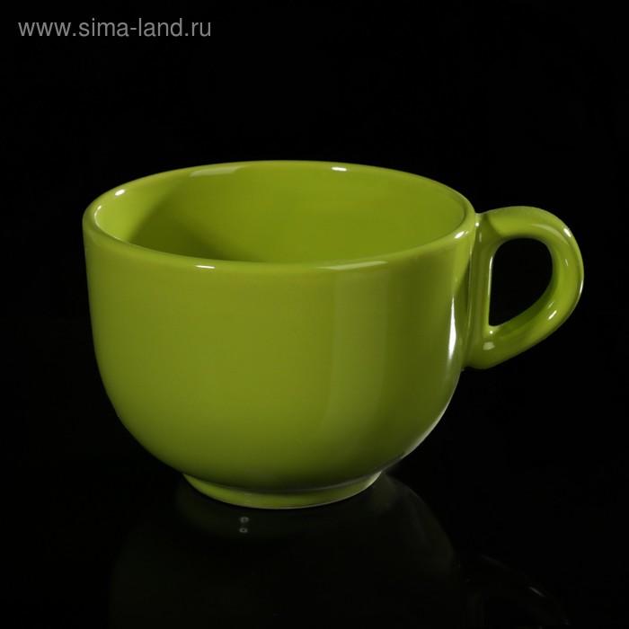 Бульонница 300 мл, цвет зеленый