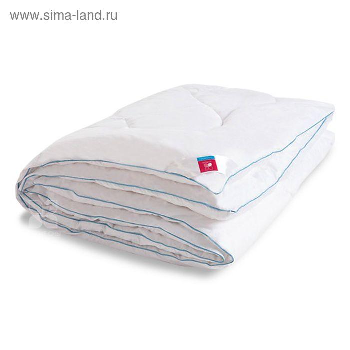 Одеяло стеганое Лель 172х205 см теплое 300 гр/м, искус.лебяжий пух, тик белый