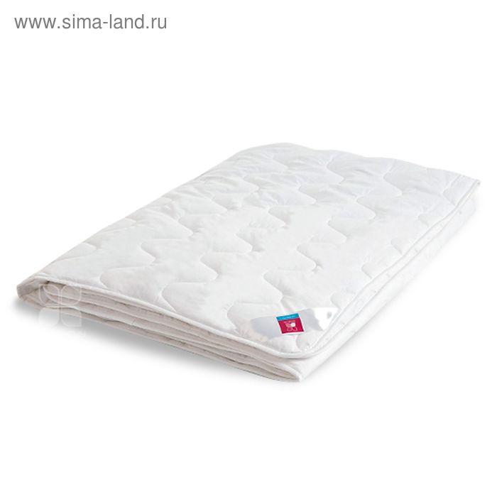 """Одеяло стёганое """"Лель"""" лёгкое, размер 140х205, искусственный лебяжий пух, тик, цвет белый, 200 гр/м2"""