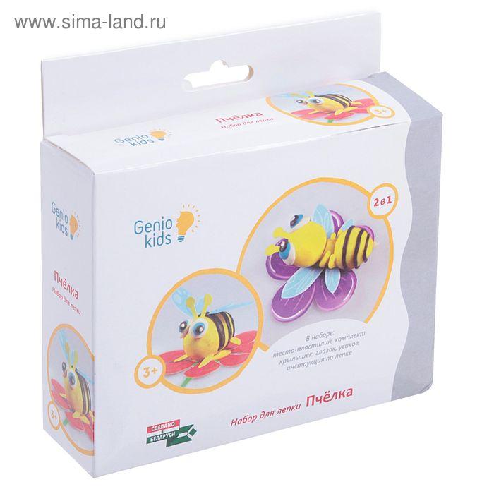 "Набор для лепки ""Пчёлка"": тесто-пластилин, крылья, глазки, усики Genio kids"