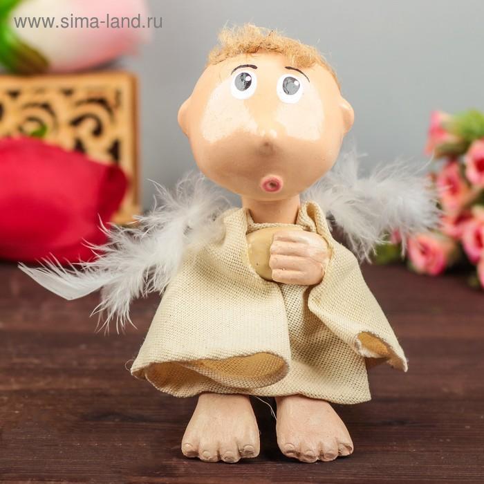 """Статуэтка """"Ангел"""" мальчик 7 × 7 × 15 см"""