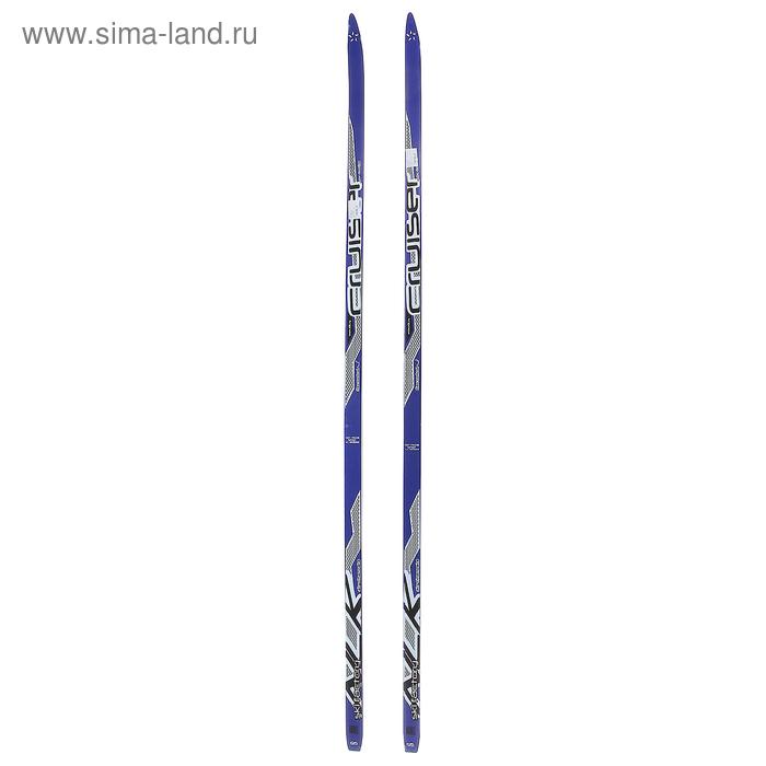 Лыжи дерево-пластик TREK Forest / Маяк ( 195см )  МИКС