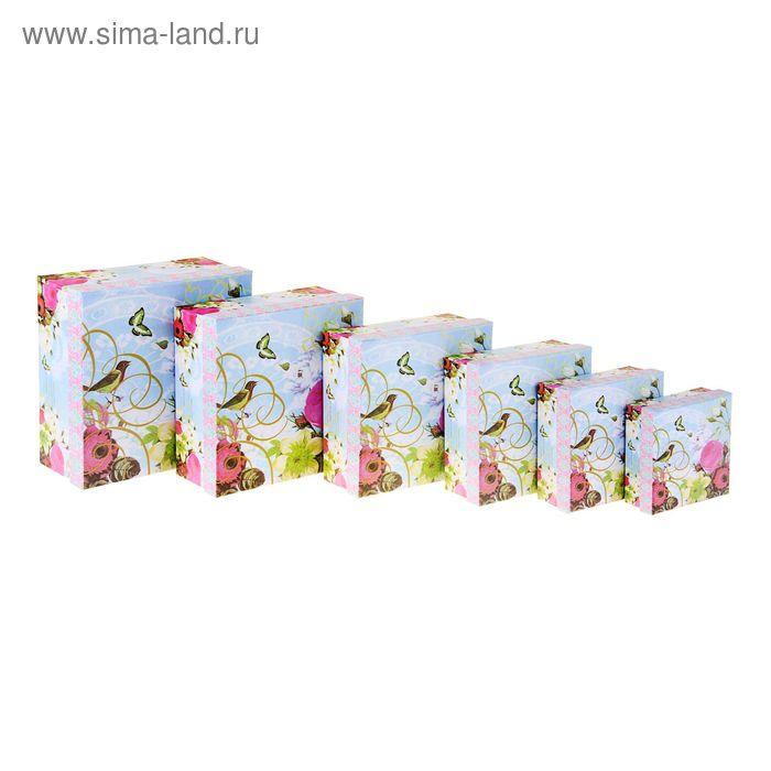 """Набор коробок 6 в 1 """"Цветы"""""""
