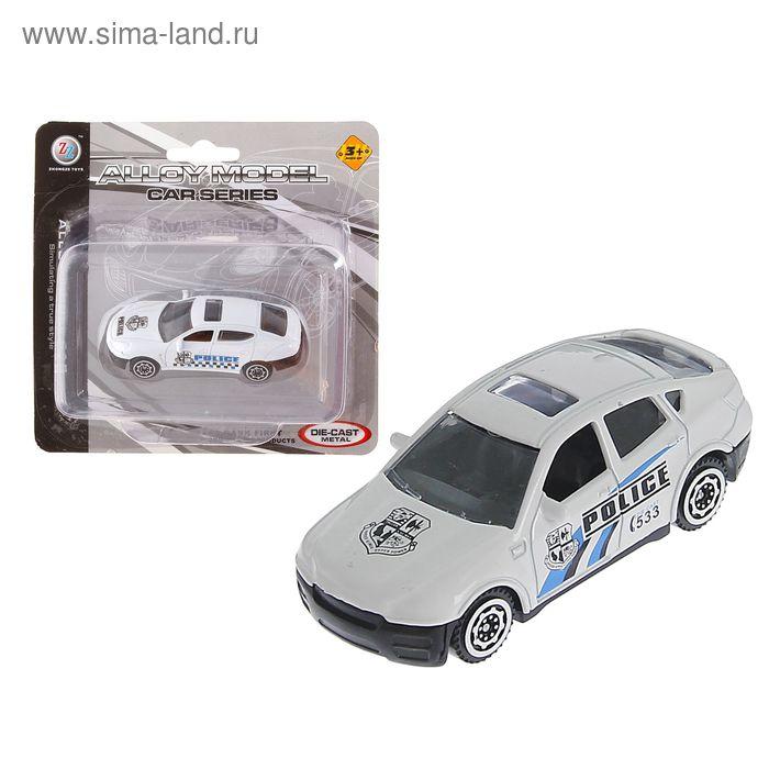 """Машина металлическая """"Полиция"""","""
