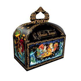 Подарочная коробка 'Палех', сундучок, сборная, 18,5 х 12,5 х 16,5 см Ош