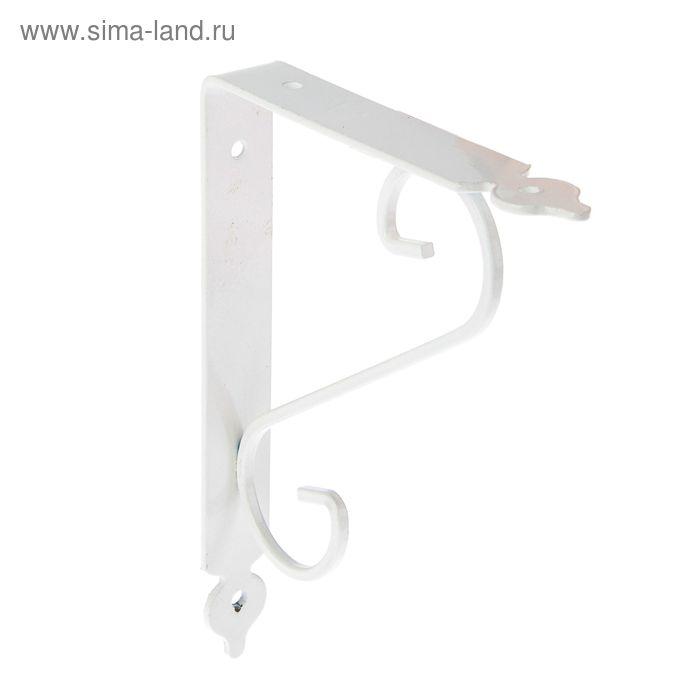 Кронштейн декоративный, тип 2, 180х230 мм, белый