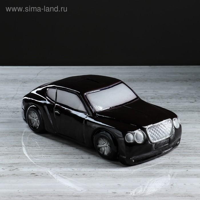 """Копилка """"Машина босса"""" коричневая"""
