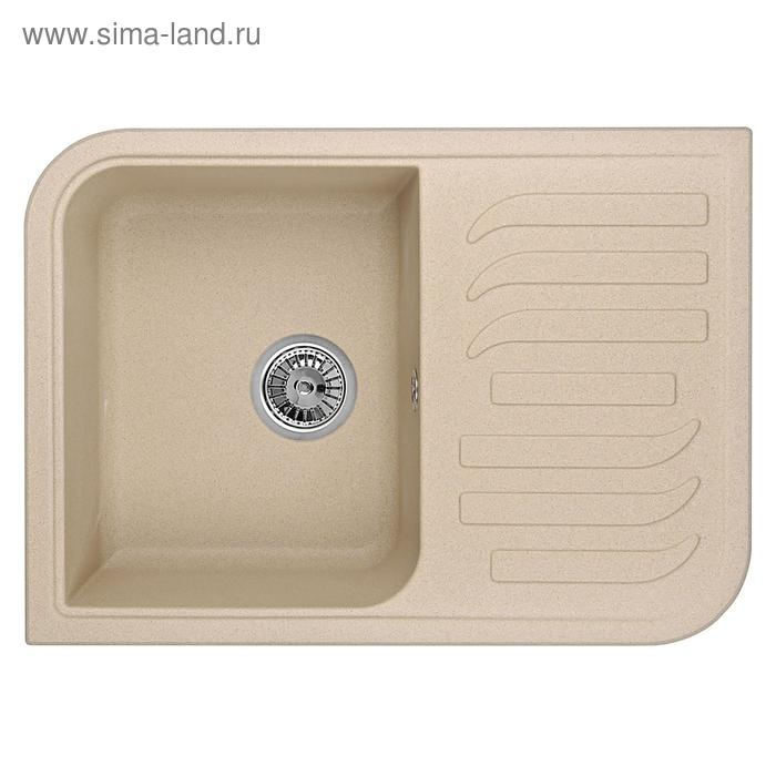 """Мойка кухонная гранитная Granula 7001 """"Песок"""""""