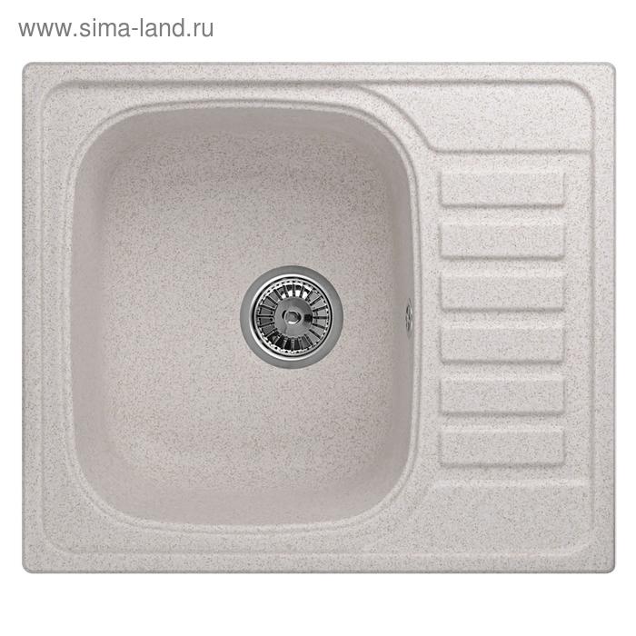 """Мойка кухонная гранитная Granula 5801 """"Пирит"""""""