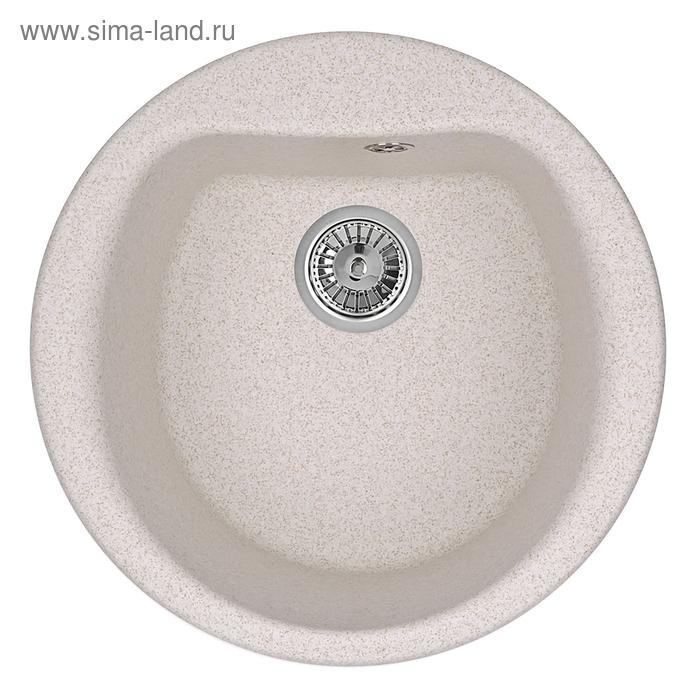 """Мойка кухонная гранитная Granula 5101 """"Пирит"""""""