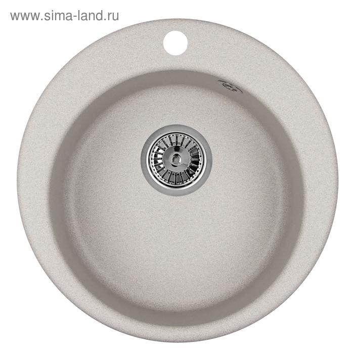 """Мойка кухонная гранитная Granula 4801 """"Базальт"""""""