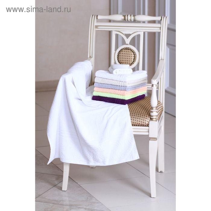 """Полотенце махровое """"Этель"""" Рапсодия белый 30*70 см, 100% хлопок, 400гр/м2"""