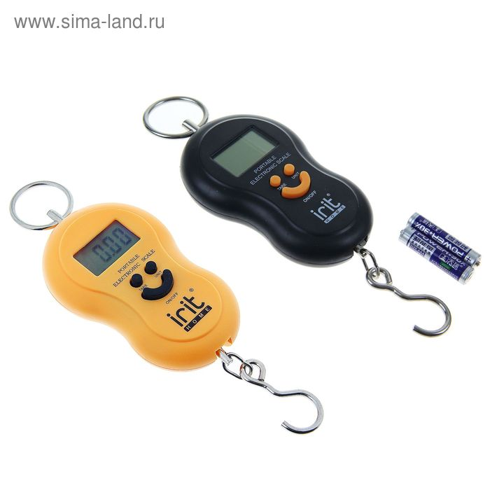 Безмен Irit IR-7450, электронный, до 50 кг, МИКС