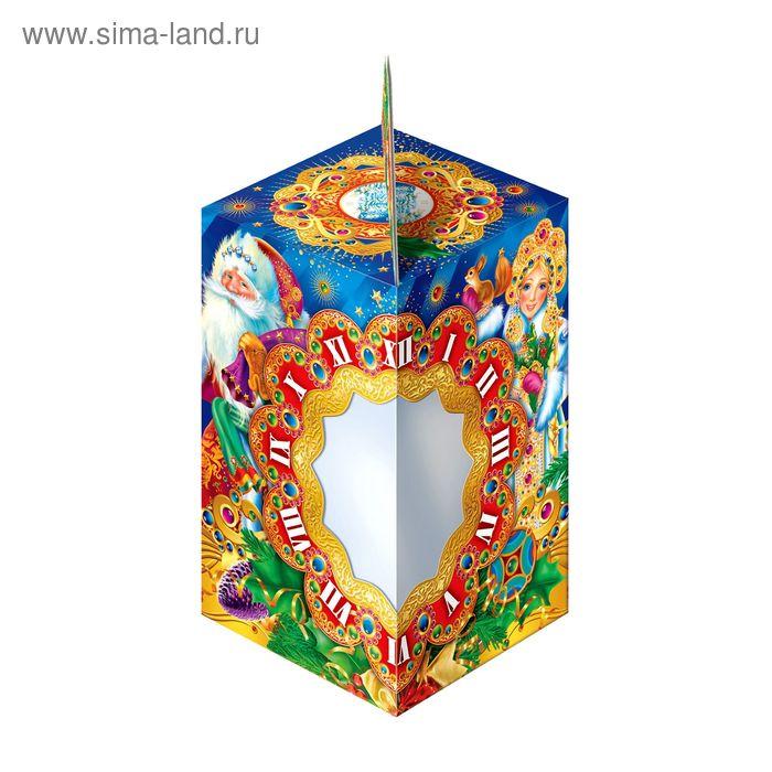 """Подарочная коробка """"Сказочные часы"""", звезда, сборная, 10 х 10 х 17 см"""