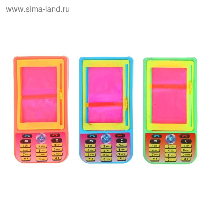 """Мини-доска для рисования """"Телефон"""", цвета МИКС"""