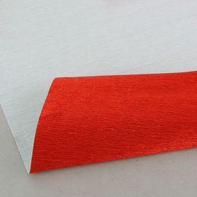 Бумага гофрированная 803 темно-красный металл, 50 см х 2,5 м