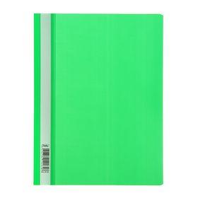 Папка-скоросшиватель А4, 140/180мкм Hatber, зеленая