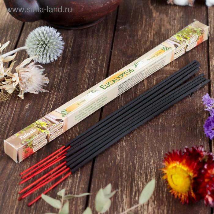 """Благовония """"Sarathi Eucalyptus"""" (Эвкалипт), четырехгранник, 8 палочек"""