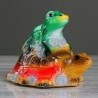 """Копилка """"Жаба на черепахе"""""""