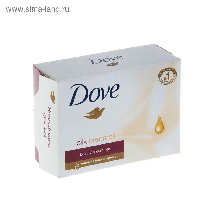 "Крем-мыло Dove ""Нежный шелк"", 135 г"