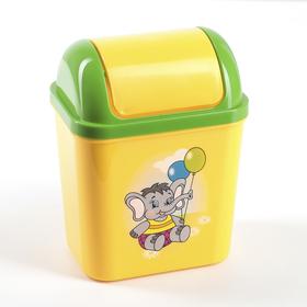Контейнер для мусора 800 мл Zoo, цвет МИКС Ош