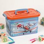 Ящик для игрушек Disney для мальчиков, 6,5 л, цвет МИКС