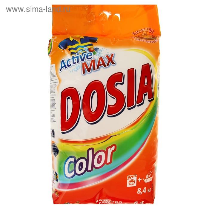 Порошок стиральный Dosia Automat Color синтетическое, порошкообразное, 8,4 кг