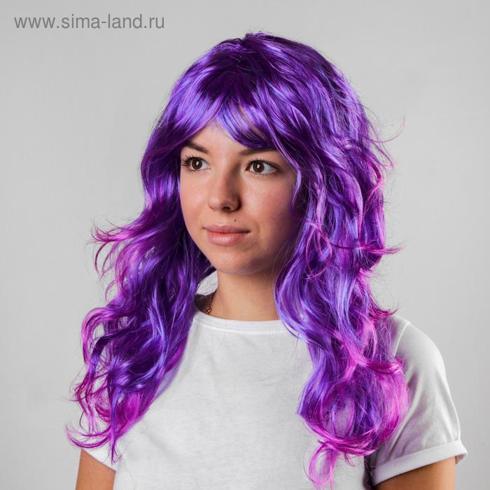 """Карнавальный парик """"Черничный шейк"""", 120 г"""